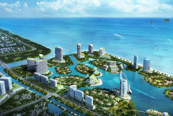 Urban Design of Shanghai Jinshan Coastal Area