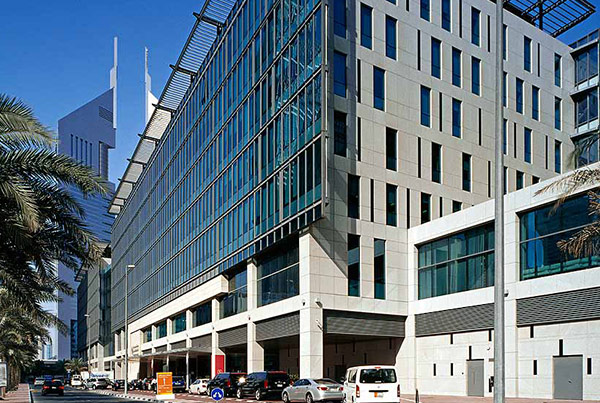 Dubai International Financial Centre, Precinct Buildings