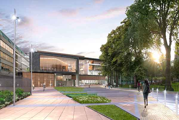 University of Bedfordshire, Phase 1 Student Centre