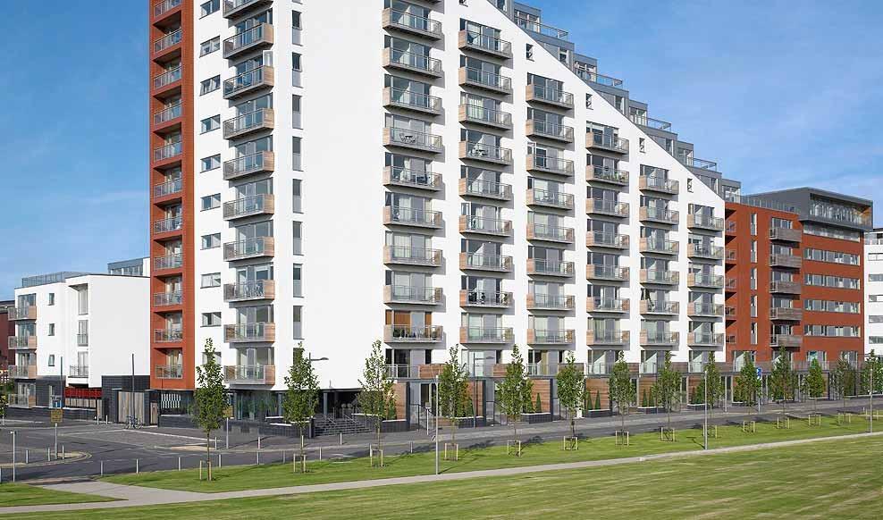 Glasgow Harbour Residential Development