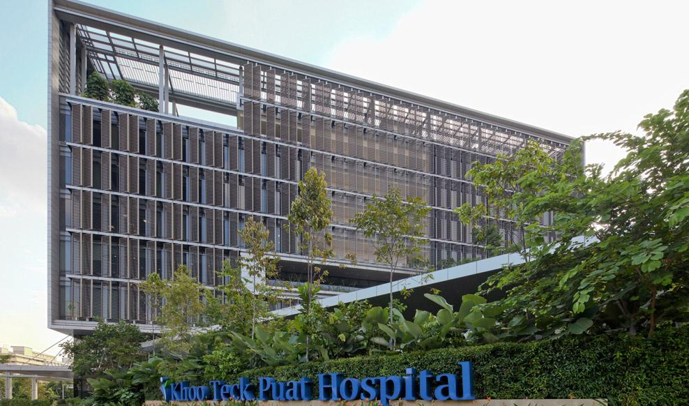 Khoo teck puat hospital rmjm for Architect ltd