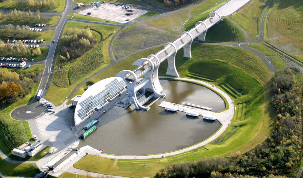 Falkirk Wheel Amp Visitor Centre Rmjm