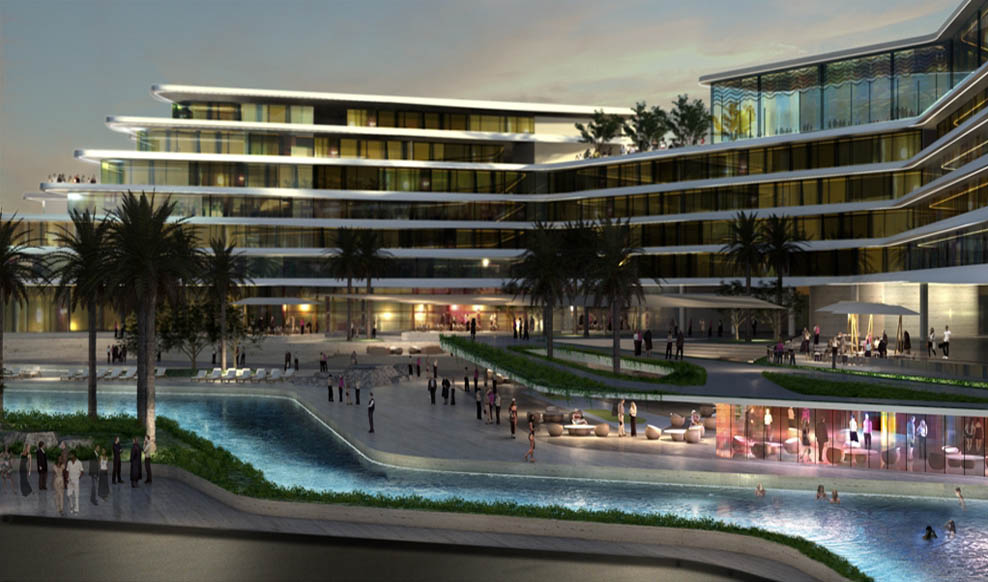 W hotel residences rmjm for Luxury hotels the palm dubai
