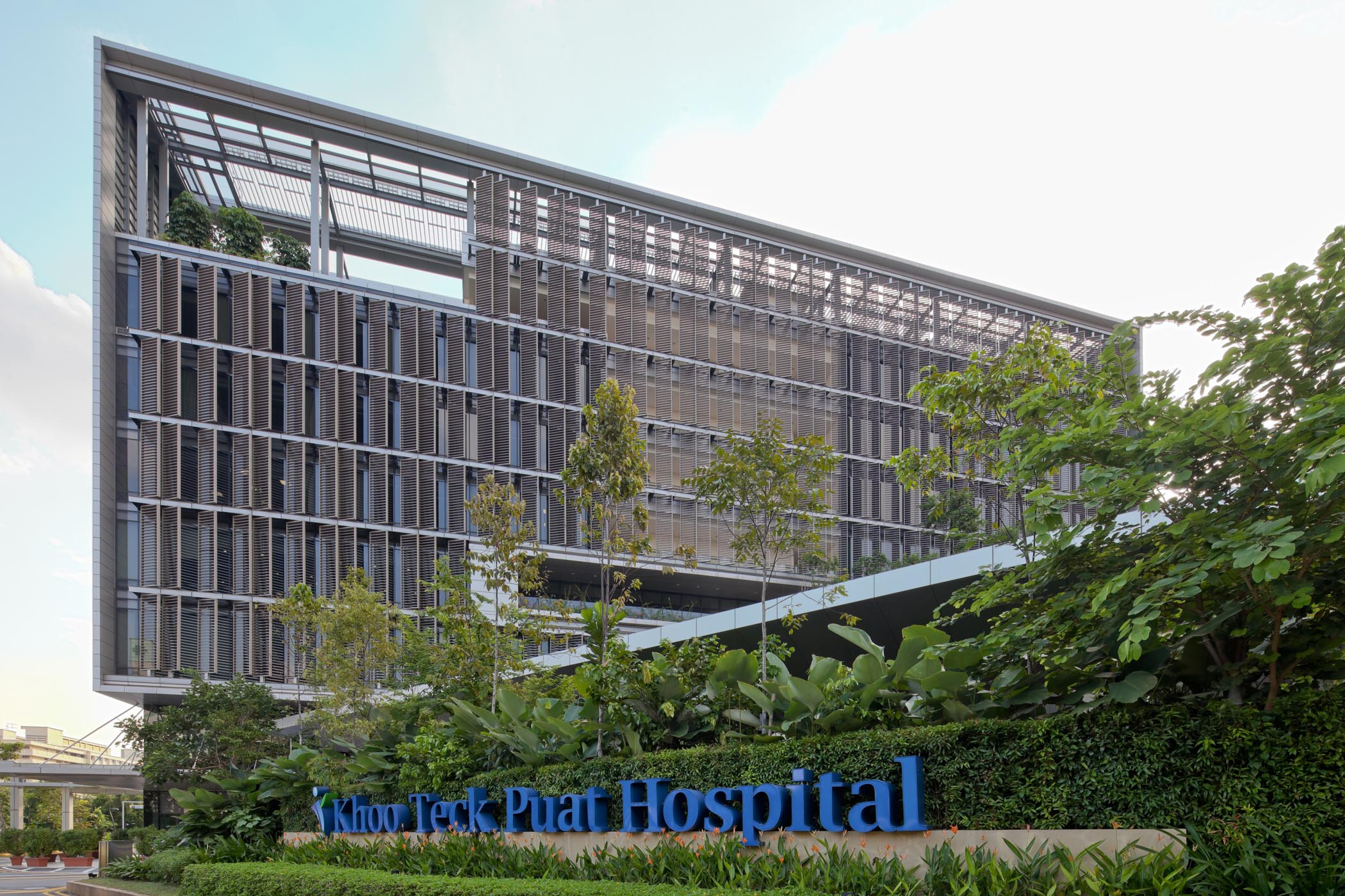 The architect s perspective khoo teck puat hospital rmjm for Design consultancy singapore