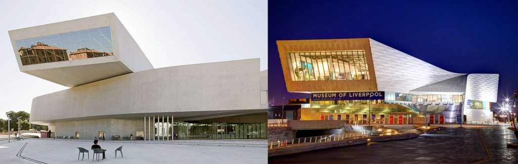 Architectural imitations
