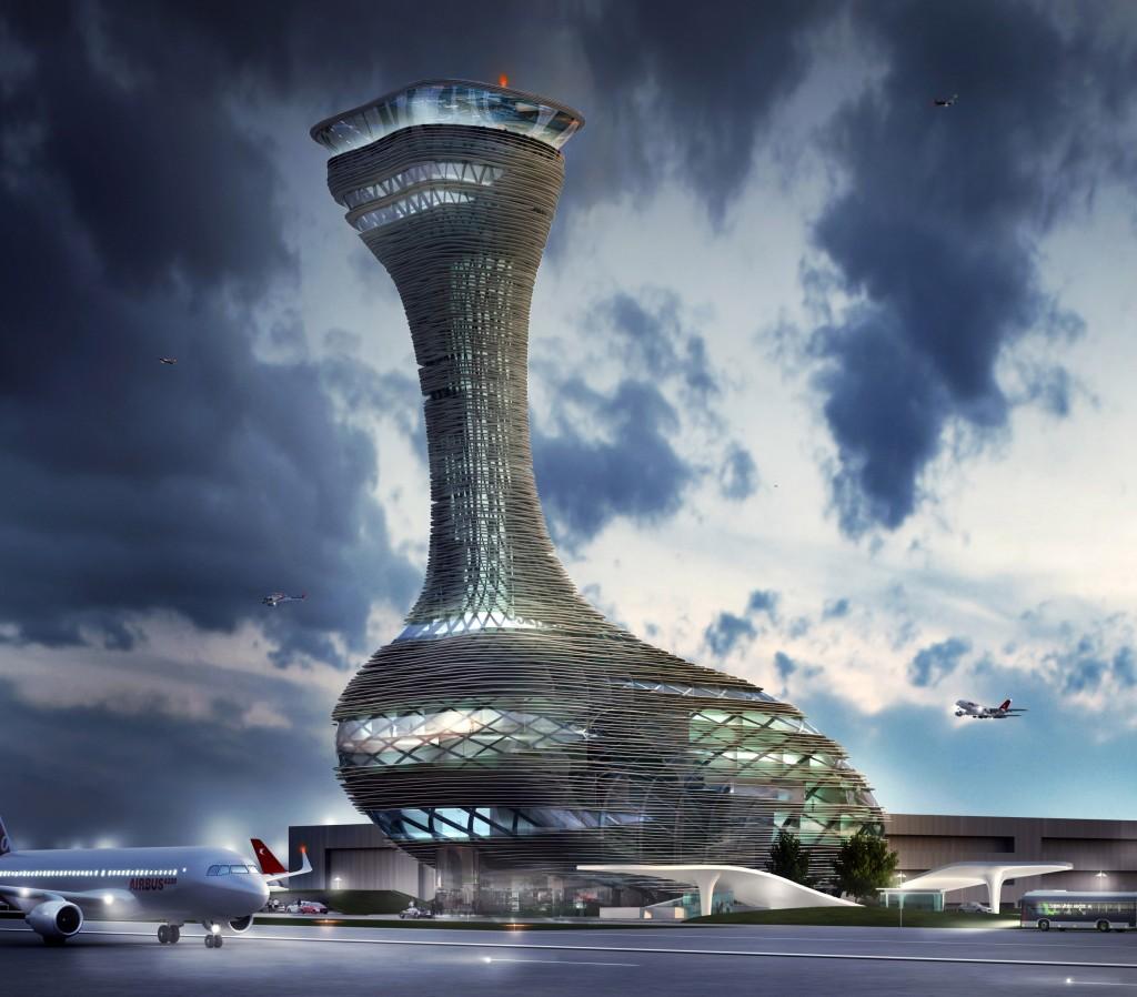 Istanbul Air Traffic Control Tower
