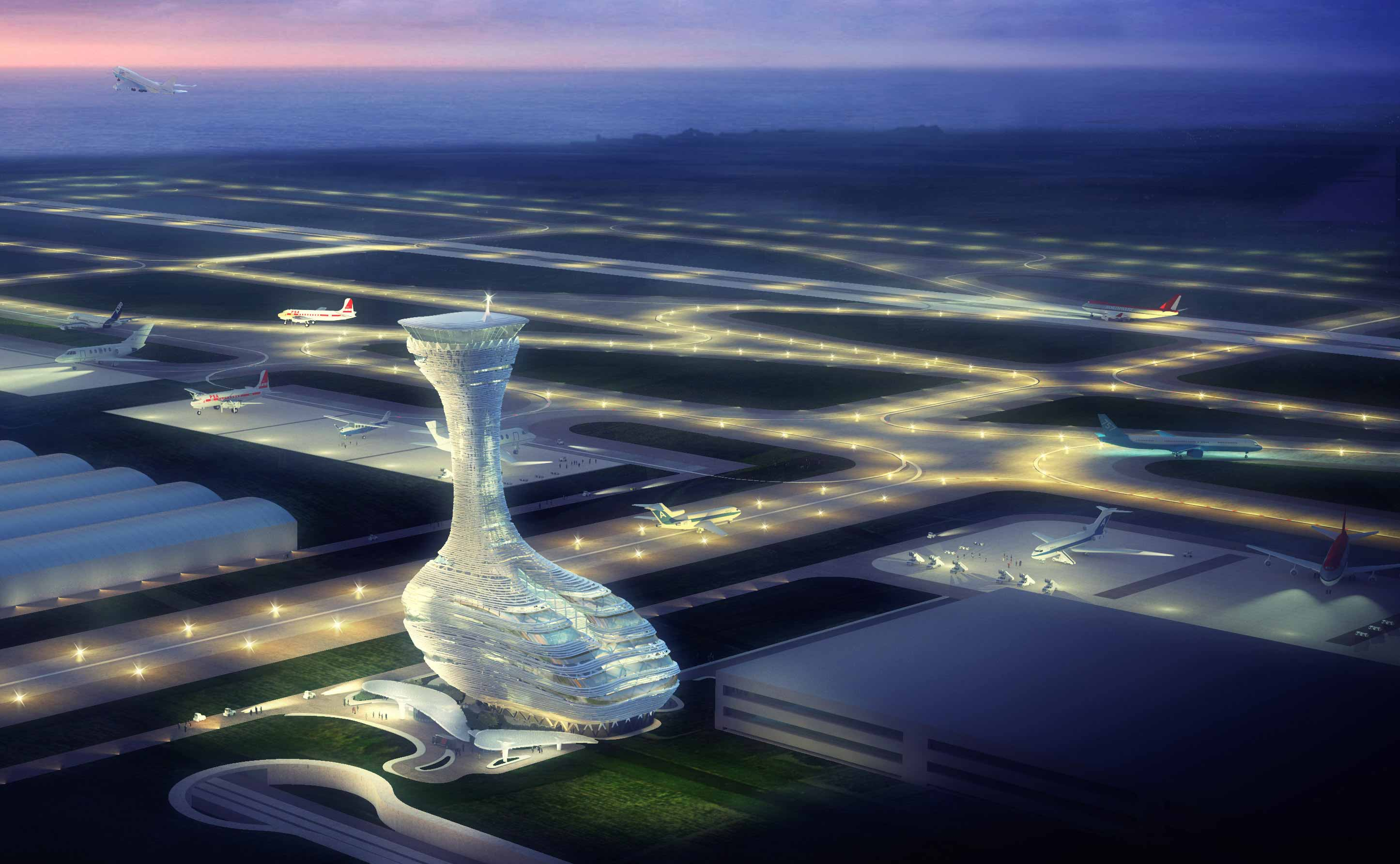 RMJM design shortlisted for Istanbul Air Traffic Control Tower