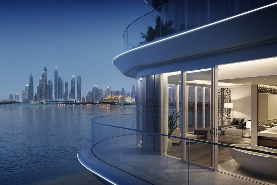 Take a look at the RMJM-designed luxury Dubai beachfront residences