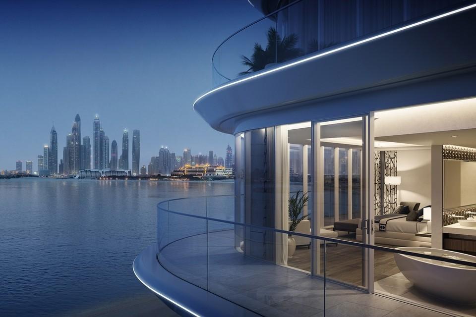 Take a Look at the RMJM-Designed Luxury Dubai Beachfront Residences