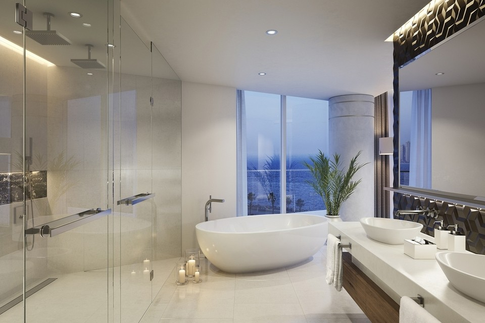 Luxury Dubai beachfront residences