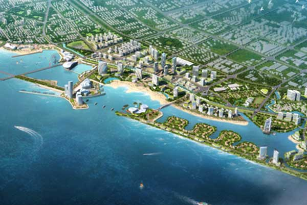 Urban Design of Shanghai Jinshan Coastal Area