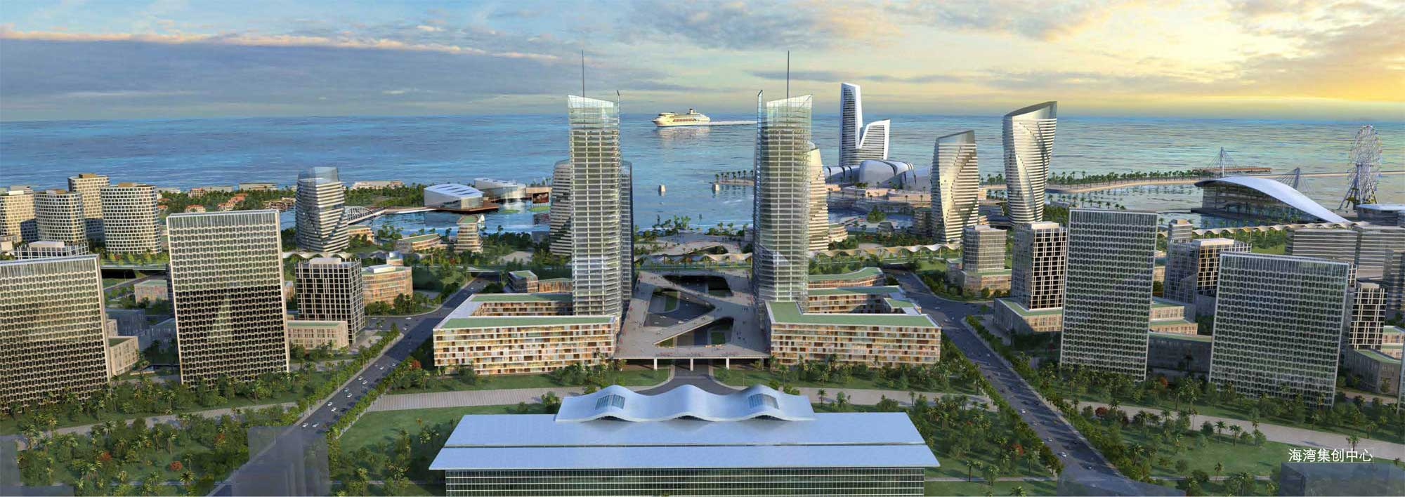 RMJM Takes Second Place in Urban Design Competition for Shanghai Jinshan Coastal Area