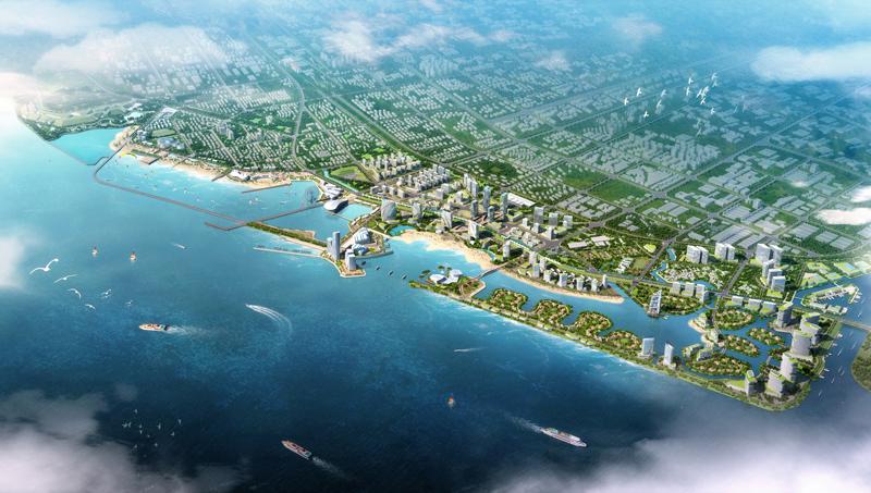 Jinshan aerial