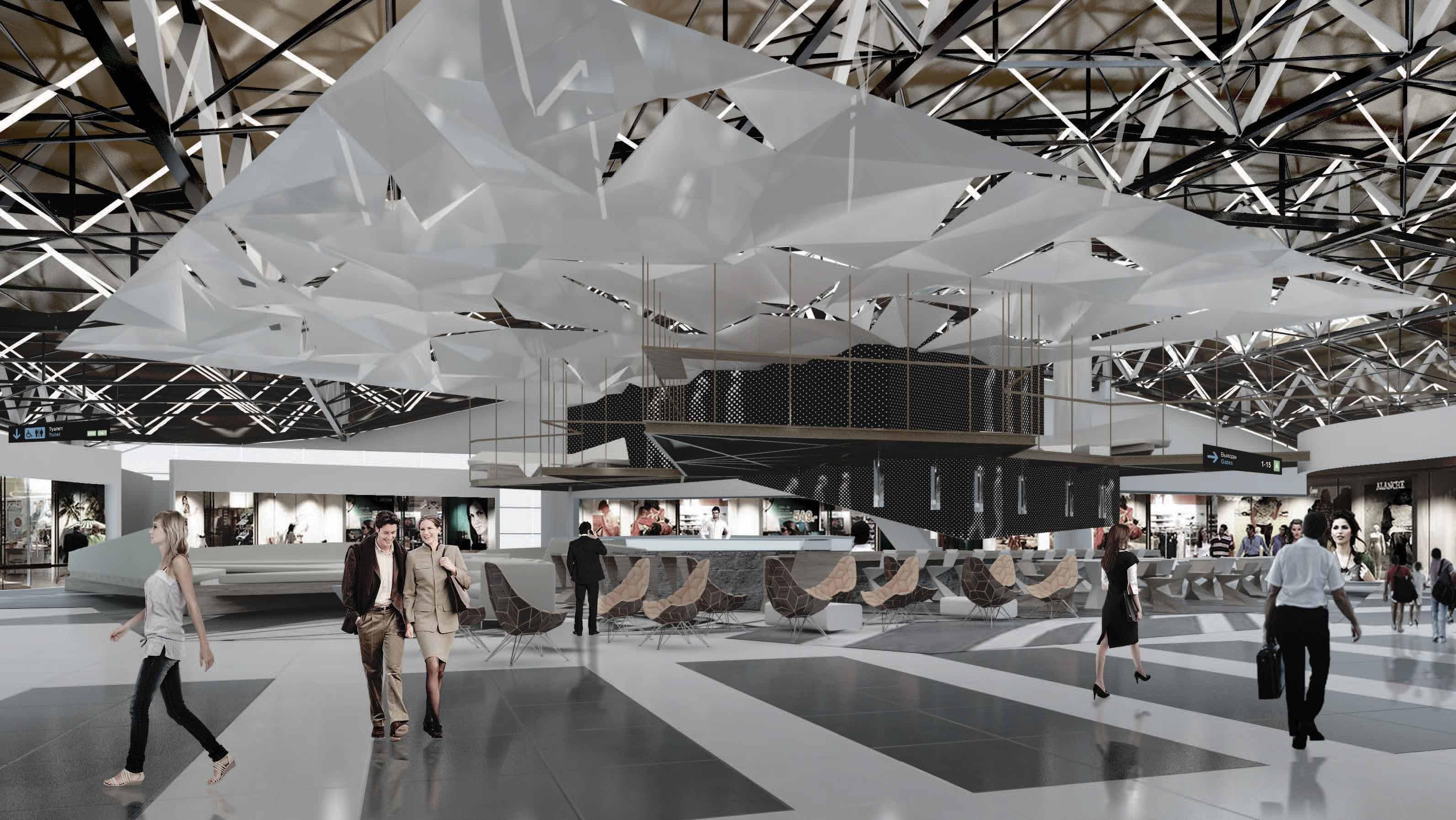 RMJM Wins Terminal B Project at Sheremetyevo Airport