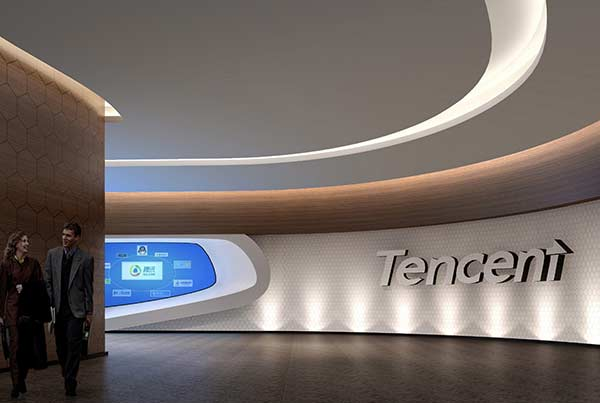 Chengdu Tencent Exhibition Design