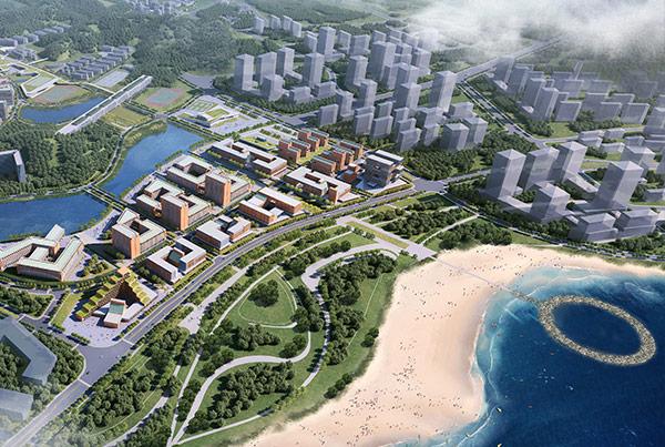 Zhuhai Campus of Sun Yat-Sen University Masterplan