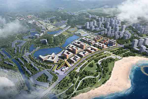 Zhuhai Campus of Sun Yat-Sen University Masterplan