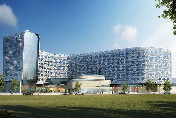 5 Star Hilton Hotel, Dubai South
