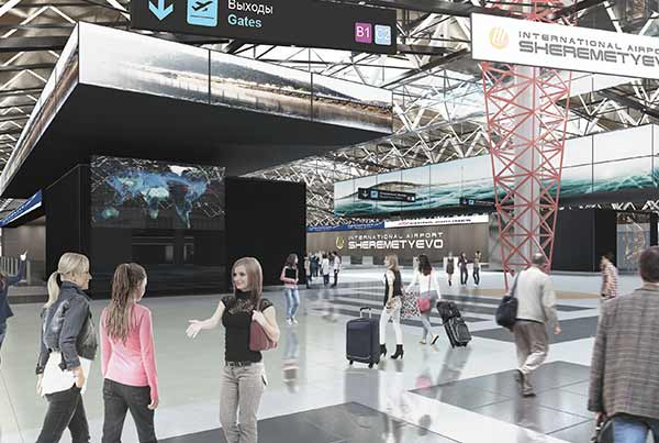 Sheremetyevo Airport – Terminal B