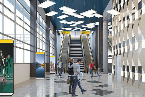 Sheremetyevo Airport – Inter Terminal Stations