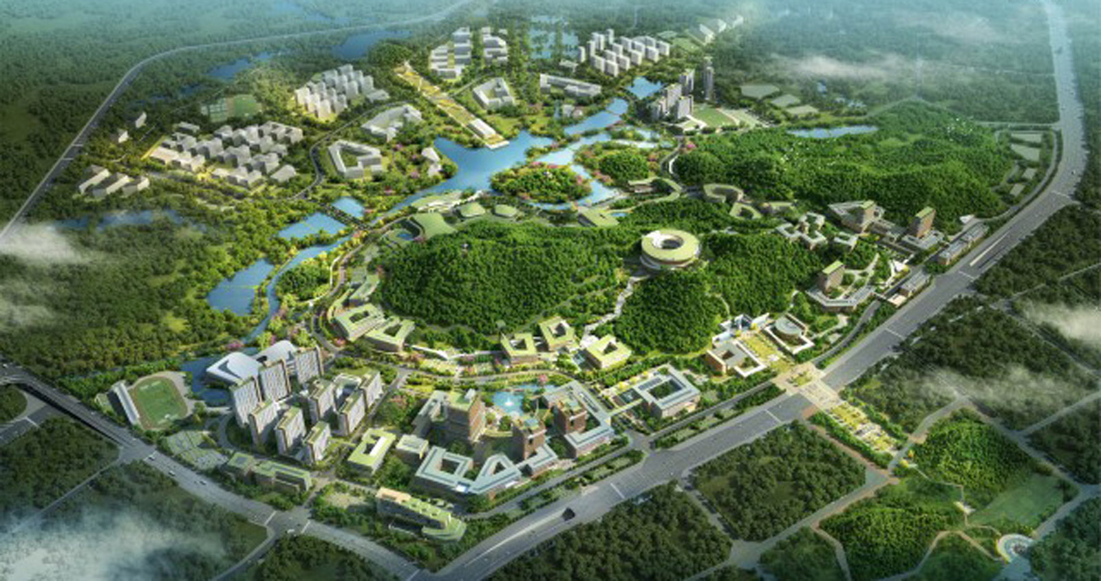 RMJM Shenzhen awarded the design for the Shenzhen Campus of Sun Yat-sen University