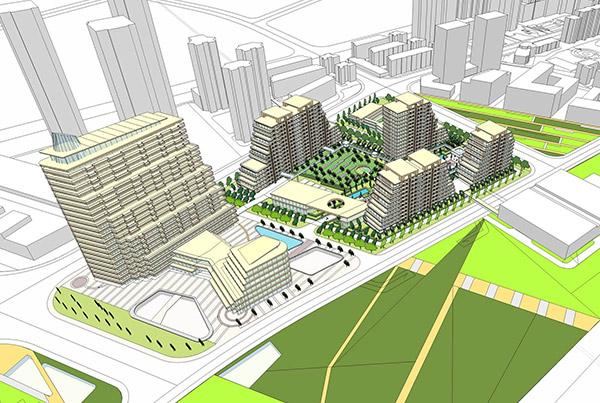 Pudong Shenjiang Masterplan