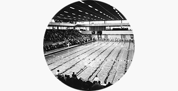 1970: HRH Princess Anne opens the Royal Commonwealth Pool