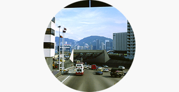 1972: The first tunnel to be built underwater in Hong Kong opens to traffic