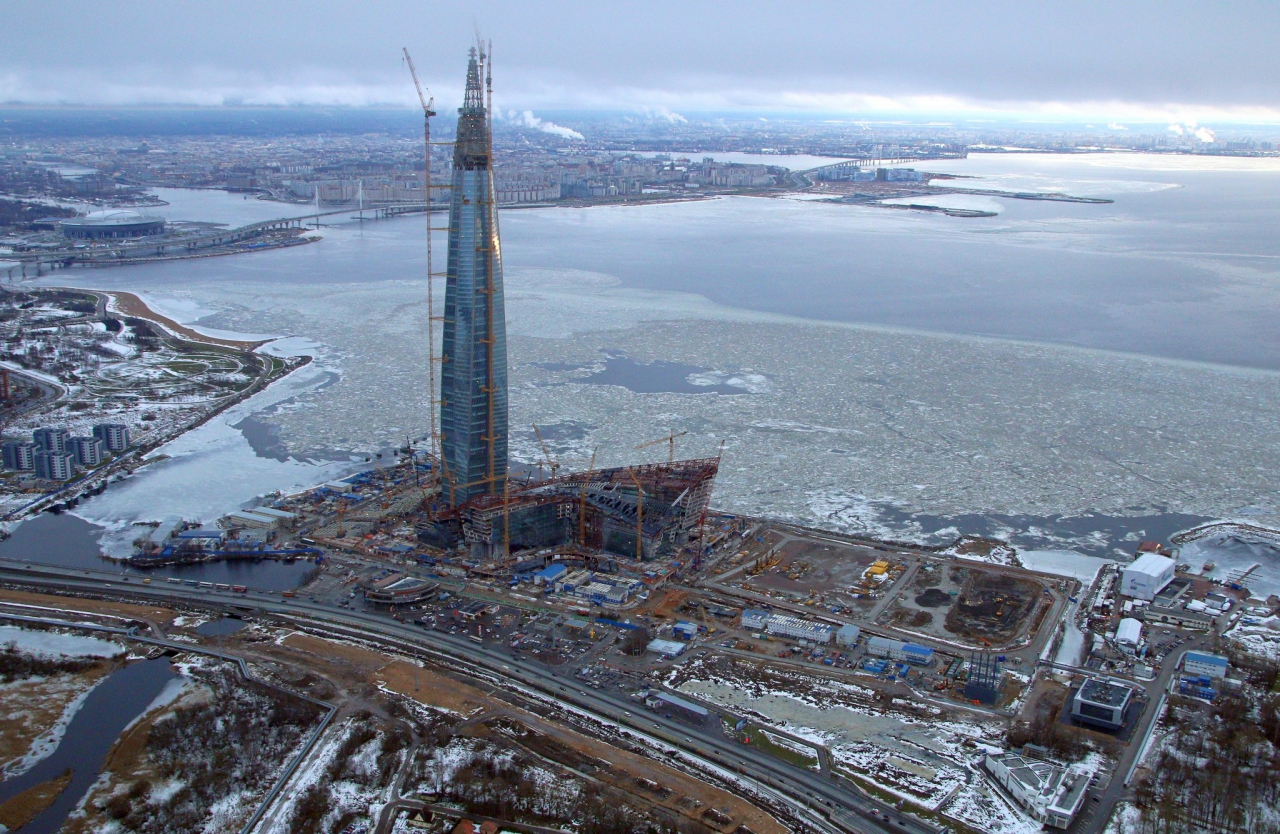 RMJM's Lakhta Center is Officially the Tallest Skyscraper in Europe