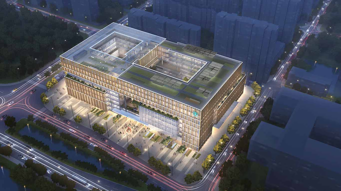 RMJM appointed to design Ningbo Agricultural Bank of China