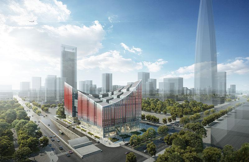 RMJM's Design For Landmark Design Centre Wins Project In Ningbo