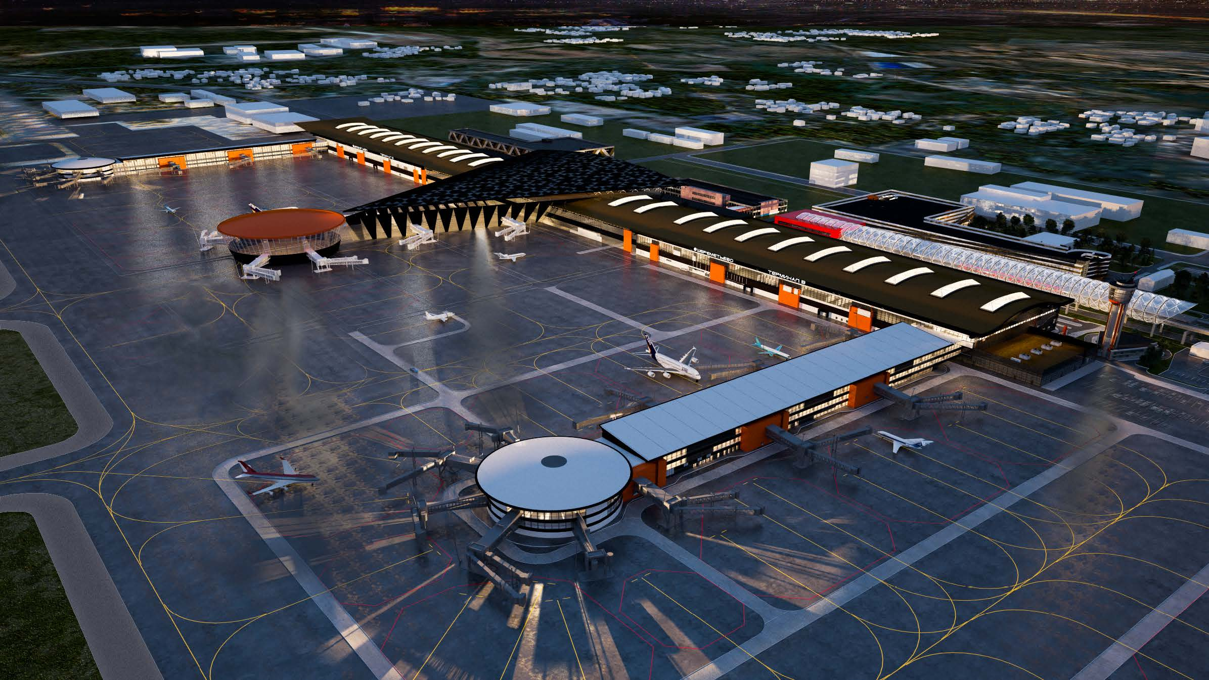 RMJM Serbia Appointed as Designers for Sheremetyevo Airport Northern Complex