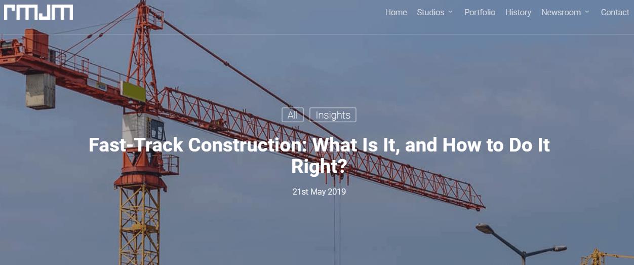screenshot of blog article