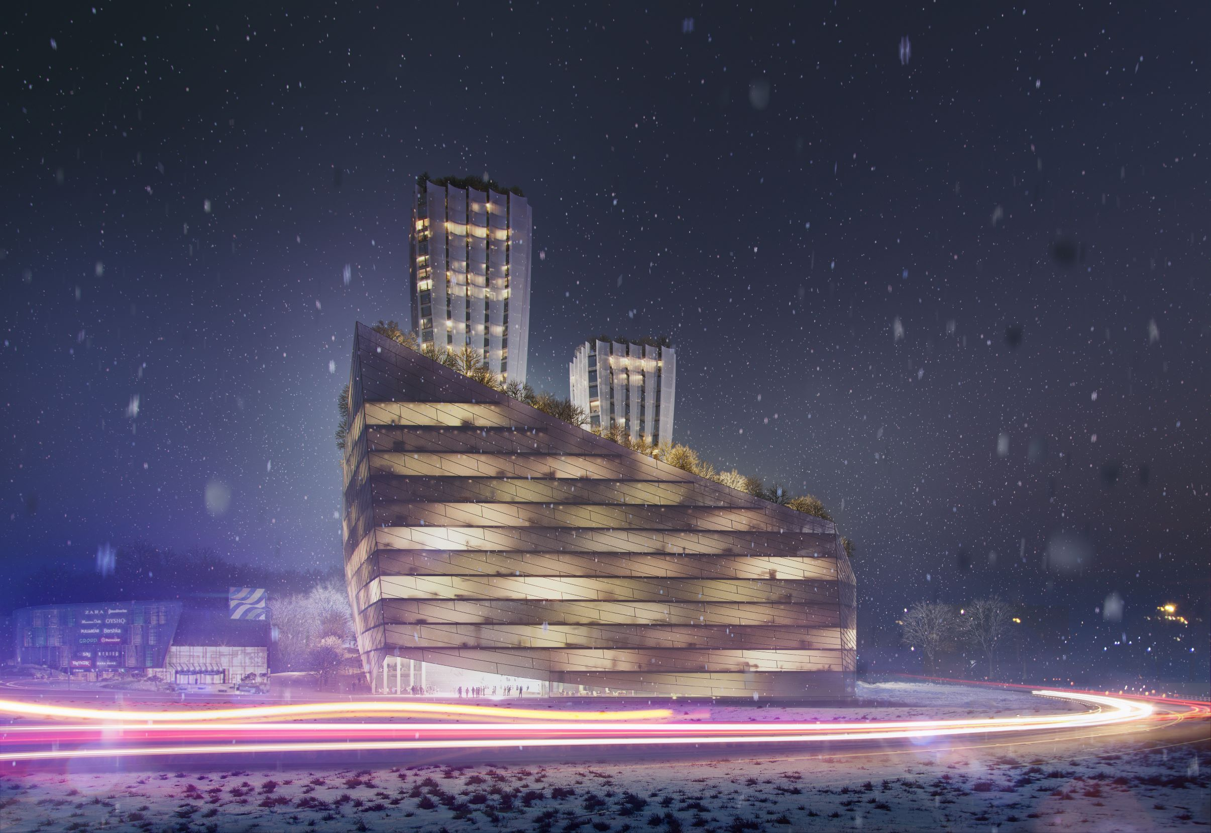 RMJM Prague Showcase Designs For Mixed-Use Gdynia Development Competition
